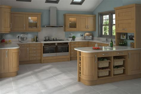 oak kitchen island unit foil wrap mdf 22mm thick timber effect finish 3578