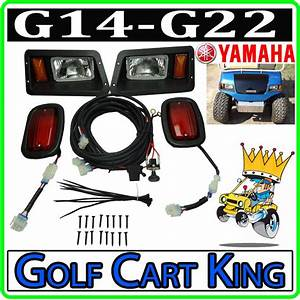 Yamaha G14  G16  G19  G22 Golf Cart Headlight