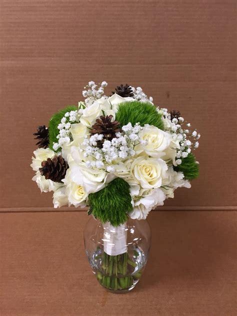Winter Wedding Bouquet Bride Bridal Flowers Elegant
