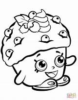 Shopkins Shopkin Coloring Pages Muffin Mini Season Printable Dolls Toys Print Cupcake Supercoloring Doughnut Colouring Muffins Sheets Drawing Characters Cake sketch template