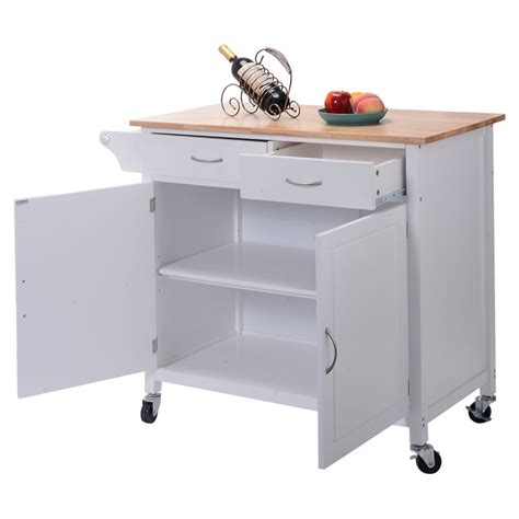 rolling kitchen island cart us portable kitchen rolling cart wood island serving
