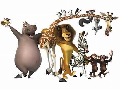 Madagascar Personajes Animada Especial Pelicula Wanted Most