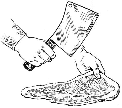 couperet de cuisine couperet ustensile