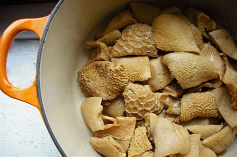 nasty bits lamb tripe stew recipe  eats