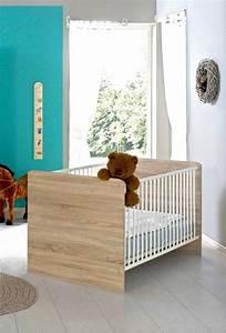 Babybett Sonoma Eiche Umbaubar : babybett kinderbett bett elisa in eiche sonoma wei ~ Indierocktalk.com Haus und Dekorationen