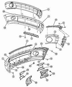 Gmc Terrain Front Bumper Parts Diagram