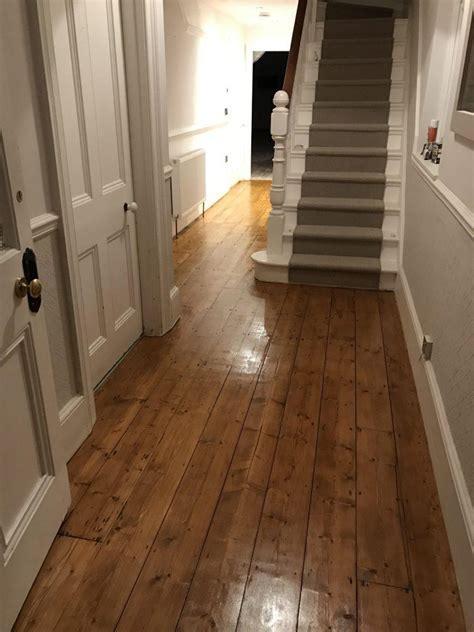 Pine Hallway Floor in Taunton   Ryans Restoration