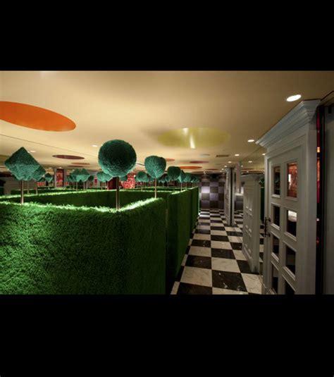 la cuisine d au pays des merveilles photo la décoration de ce restaurant est inspirée d