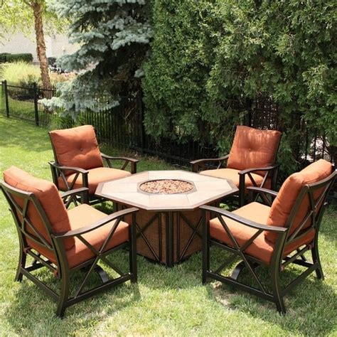 haywood pit set by agio select patio furniture
