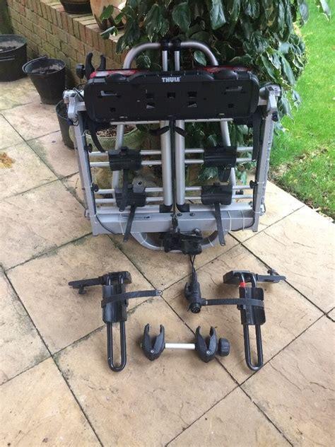 thule euroclassic pro 902 thule euroclassic pro 903 902 tow bar mounted 3 4 bike carrier in kettering