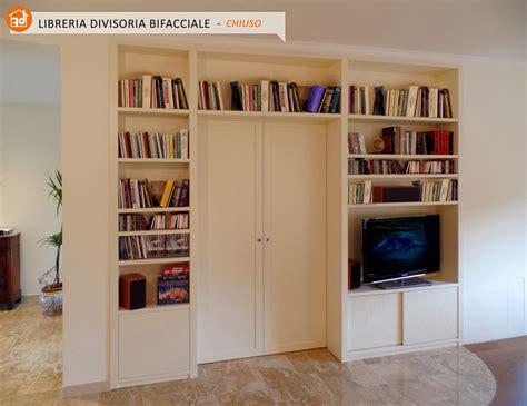 libreria su misura roma librerie bifacciali su misura costruite in vero legno