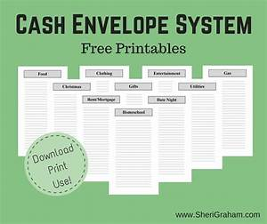 free printable cash envelope system cash envelope system With envelope budget system template