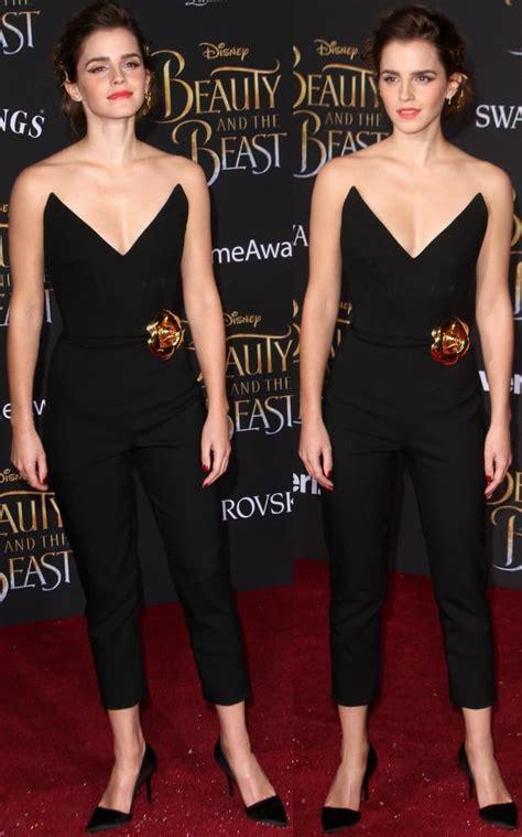 Beauty The Beast Premiere Emma Watson Oscar
