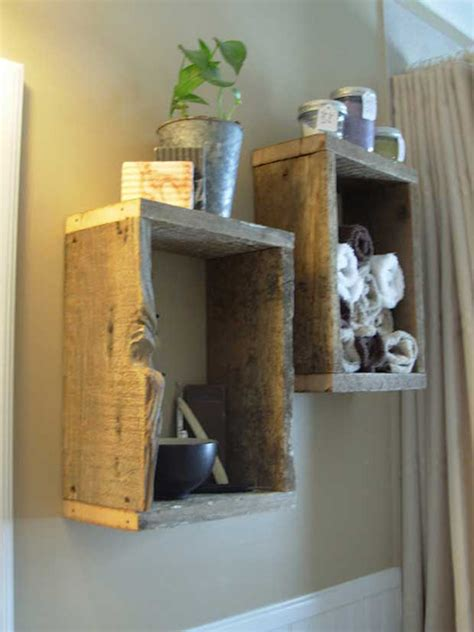 diy rustic bathroom ideas  natural elements home