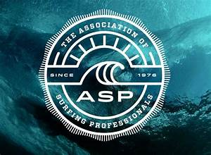 Brand New: New Logo for Association of Surfing Professionals