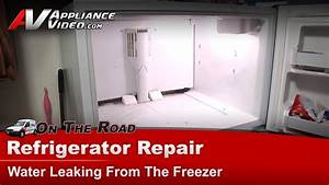 what causes a refrigerator to leak water on the floor With refrigerator leaking water on floor