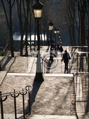 papier peint escaliers montmartre marche pixers fr