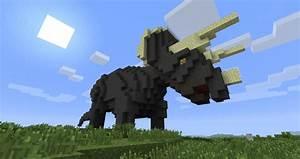 "Dinosaur ""Triceratops"" Minecraft Project"