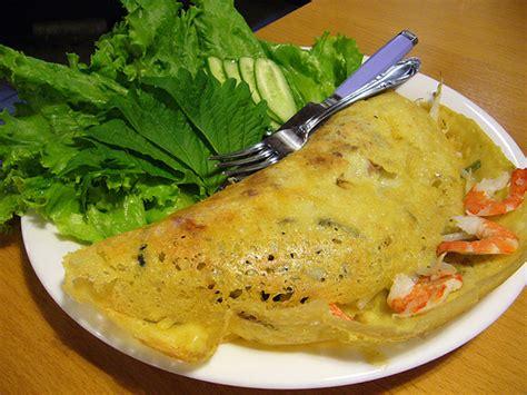 recette cuisine vietnamienne recette bánh xèo banh xeo crêpe vietnamienne au porc et