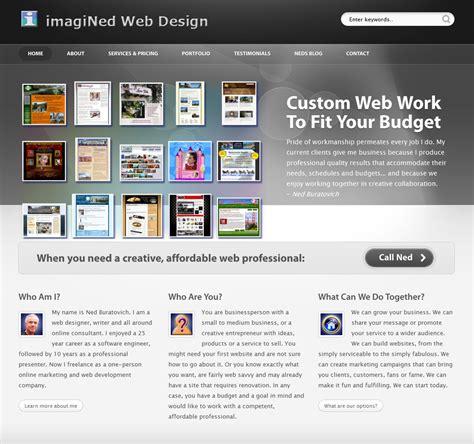 rebuilding  portfolio site imagined web design