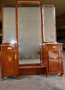 3 Teiliger Spiegel : original jugendstilpsyche neu restauriert tolle intarsien psyche spiegelkommode riesiger ~ Bigdaddyawards.com Haus und Dekorationen