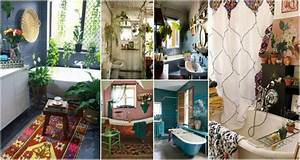 Fascinating, Bohemian, Bathroom, Ideas, Perfect, For, Relaxation