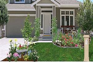 Landscaping Idea Front Yard Corner House Garden Post Best Front Yard Landscaping Designs