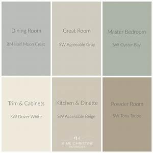 whole-house-color-palette Home Colors Pinterest