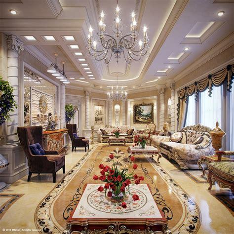 Luxusvilla Innen Wohnzimmer by Luxury Villa Living Room 4 Interior Design Ideas