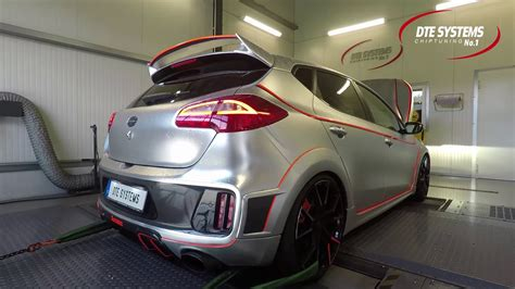 kia ceed tuning kia cee d gt chip tuning and dyno test at dte systems