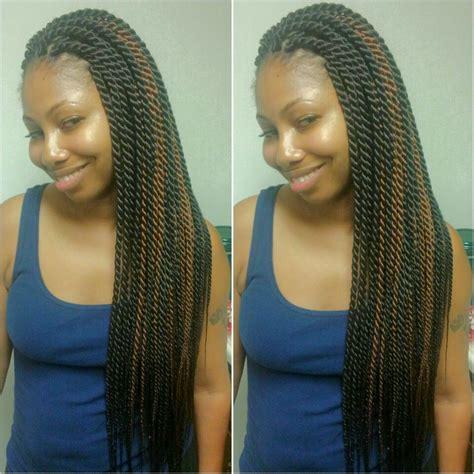 Rope Twist Hairstyles by Senegalese Twists Rope Twists Twists Braidsbyguvia