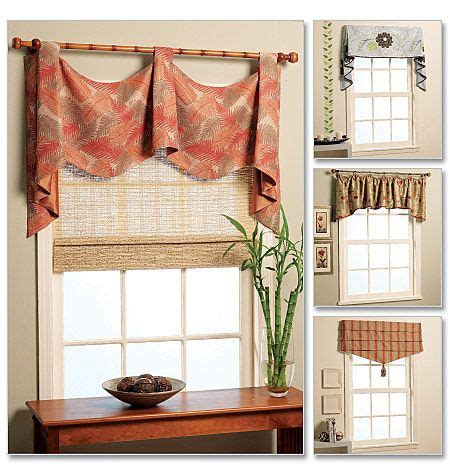 patterns for valances mccall s m5872 how to make a valance