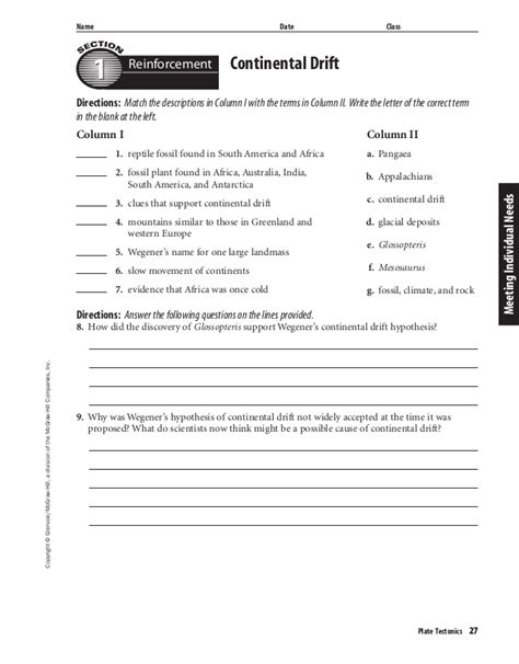 glencoe mcgraw hill worksheet answers the best worksheets