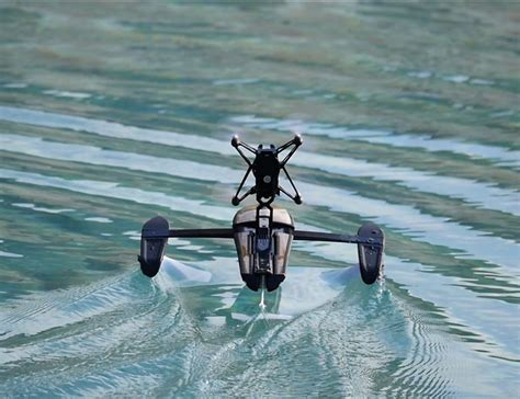 hydrofoil drone  parrot designed  glide  water gadgets tech remote control drone