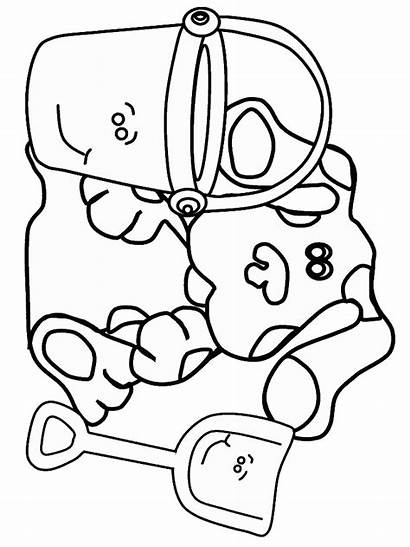Coloring Clues Pages Blues Fun Wah Tickety