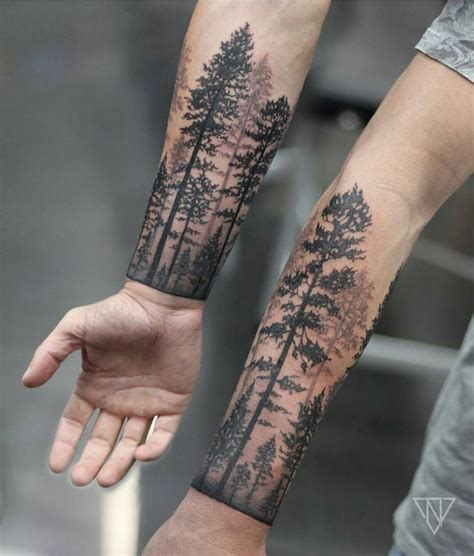 Best 20+ Forest Tattoos Ideas On Pinterest  Tree Tattoos