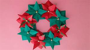 Küchenzeile 3 40 M : origami christmas wreath instructions youtube ~ Bigdaddyawards.com Haus und Dekorationen