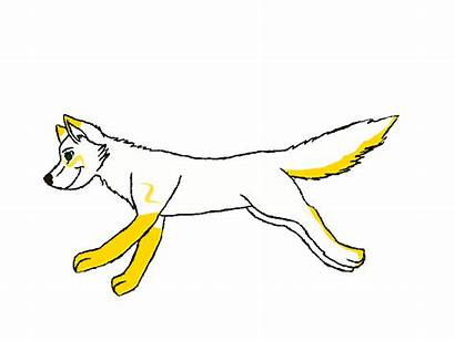 Wolf Animated Running Anime Deviantart V3 Dog