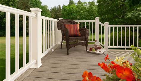 composite decking railing care cleaning timbertech