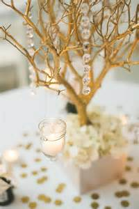 manzanita branches centerpieces gold manzanita branch centerpieces tradesy weddings