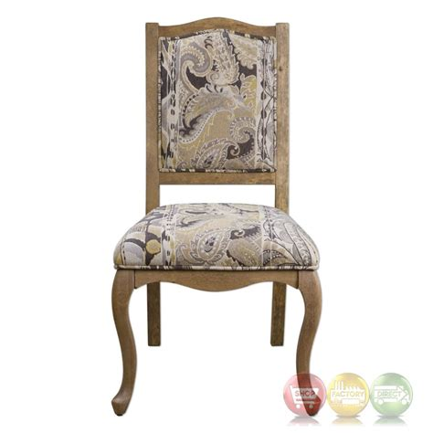 kerriane country birch accent chair with gold