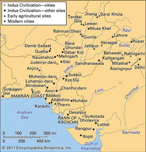 Indus Valley Harappan Civilization Maps