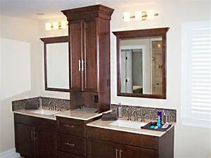 Good Bathroom Vanities With Towers Double Vanity With
