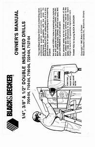 Black  U0026 Decker Drill 7190