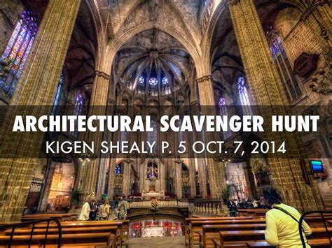 Architecture Scavenger Hunt By Kigen Shealy
