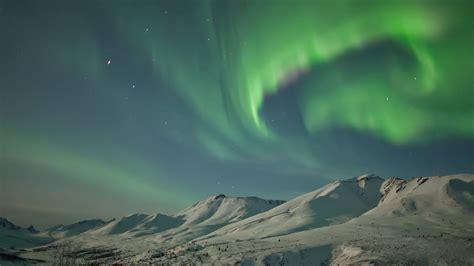 Aurora Borealis Yukon Bing Wallpaper Download
