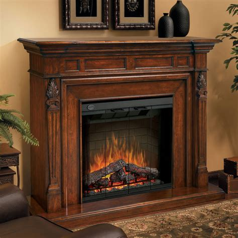 indoor electric fireplace dimplex torchiere electric fireplace in burnished walnut