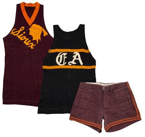 lot detail early  high school basketball uniform