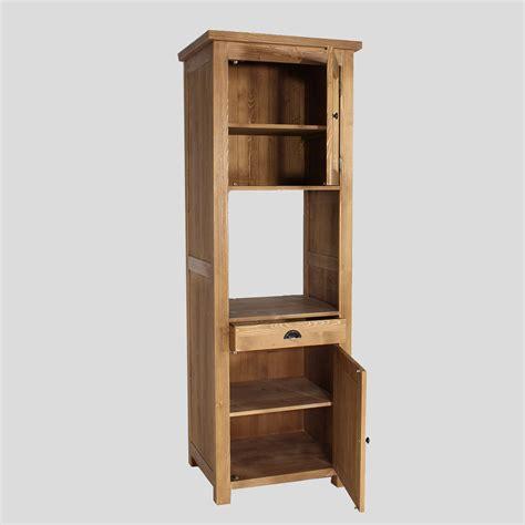 meuble demi colonne cuisine colonne cuisine en bois pour four cagne made in meubles