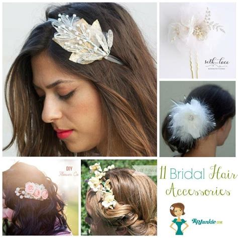 diy hair accessories for wedding 11 diy bridal hair accessories tip junkie